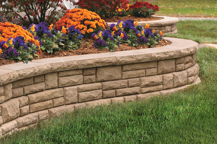 SEK Adhesives Garden Wall Application